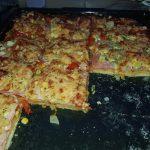 Pizza z plechu