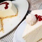 Sněhobílý dort Raffaello