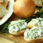 Tvarohová pomazánka na způsob taveného sýra
