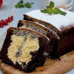 Lahodný tříbarevný koláč