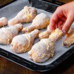 Jednoduchá pečená kuřecí stehýnka