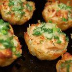 Muffinové brambory s kuřecím masem