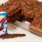 Kakaový piškot s čokoládovým krémem