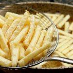 Křupavé bramborové hranolky