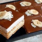 Nepečený dort se sušenkami a smetanovým krémem