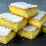 Máslový koláč se smetanovou náplní