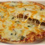 Rychlá sýrová pizza