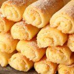 Křehké tvarohové sušenky