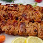 Turecký kuřecí kebab