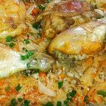 Rychlý a maximálně jednoduchý pokrm z vařené rýže a zelí, který si zamilujte